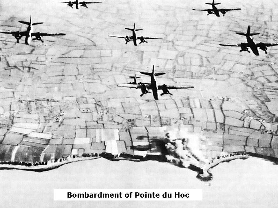 Bombardment of Pointe du Hoc