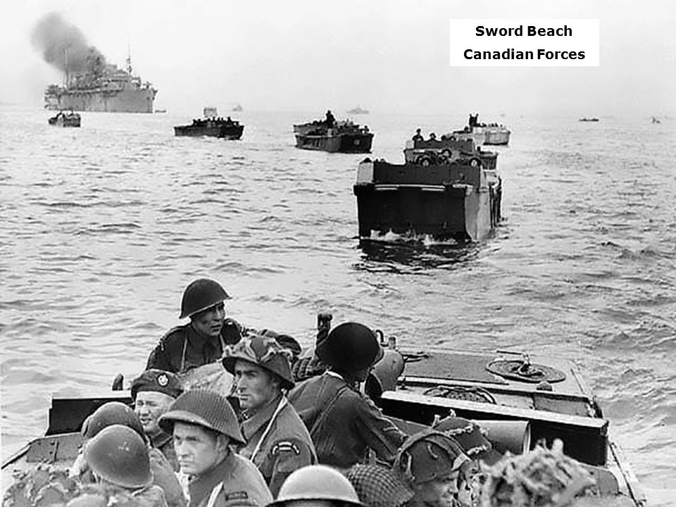 Sword Beach Canadian Forces