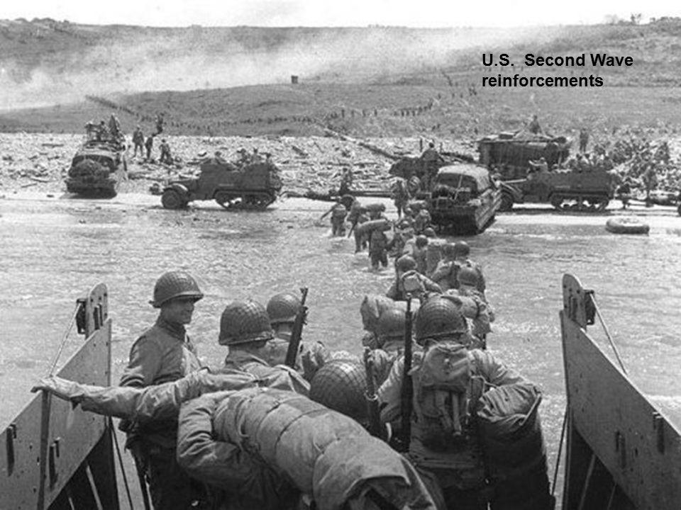 U.S. Second Wave reinforcements