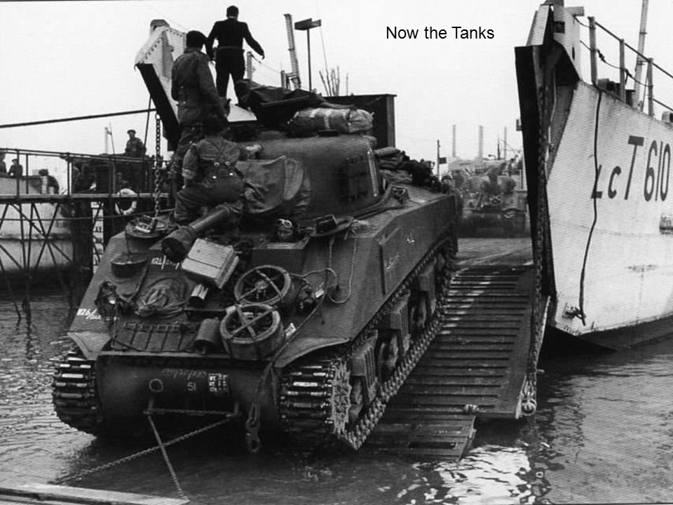 Now the Tanks