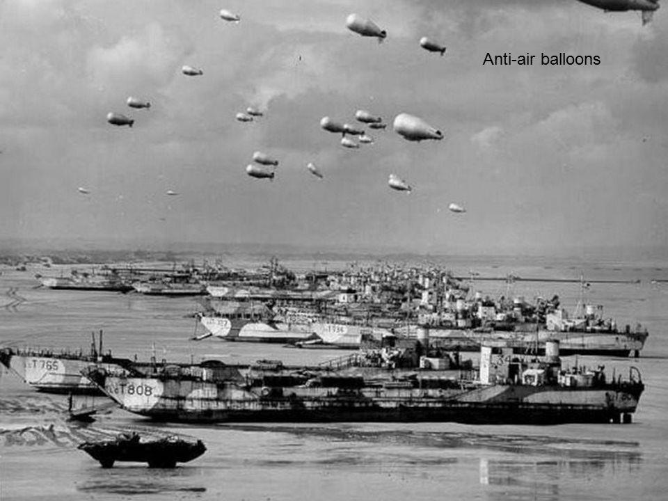Anti-air balloons