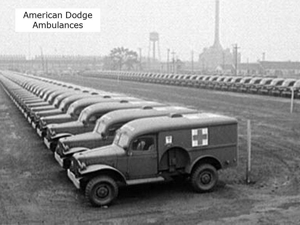 American Dodge Ambulances