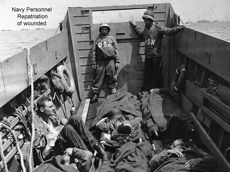 Navy Personnel Repatriation of wounded