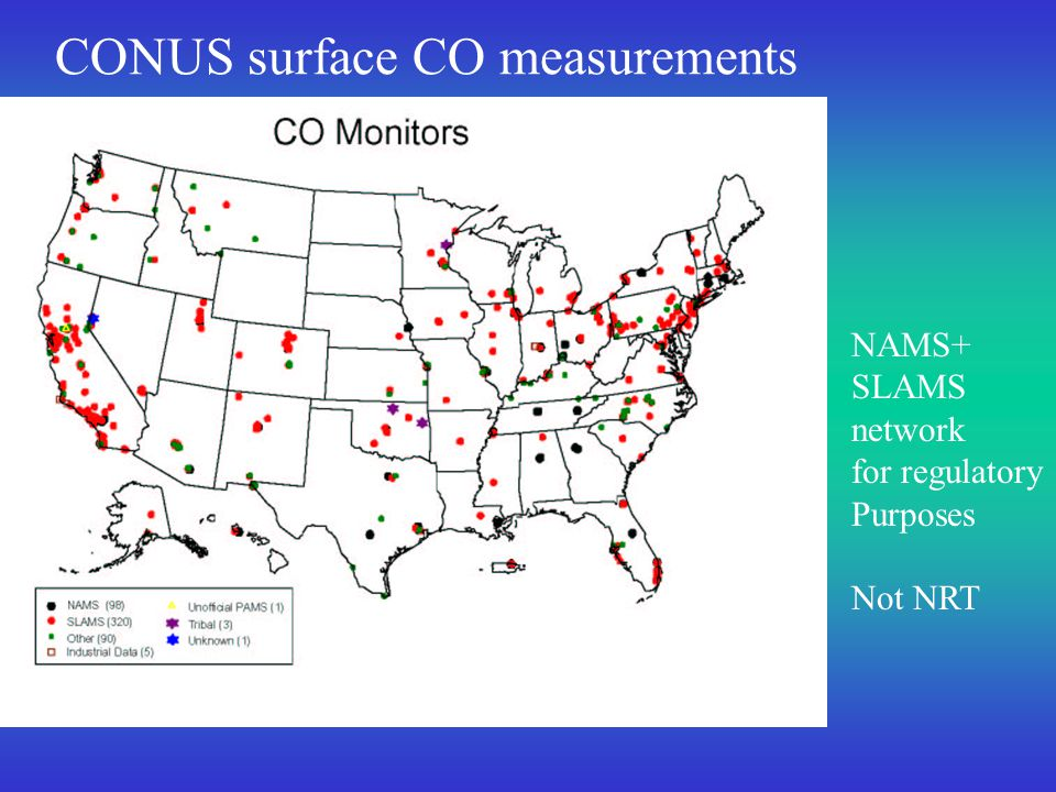 EPA SupersitesSEARCH sites Enhanced surface measurement sites