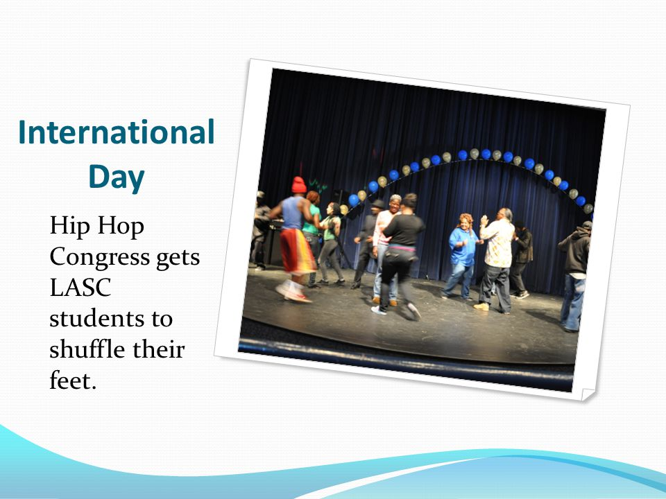 International Day Some dance moves from the Caribbean!