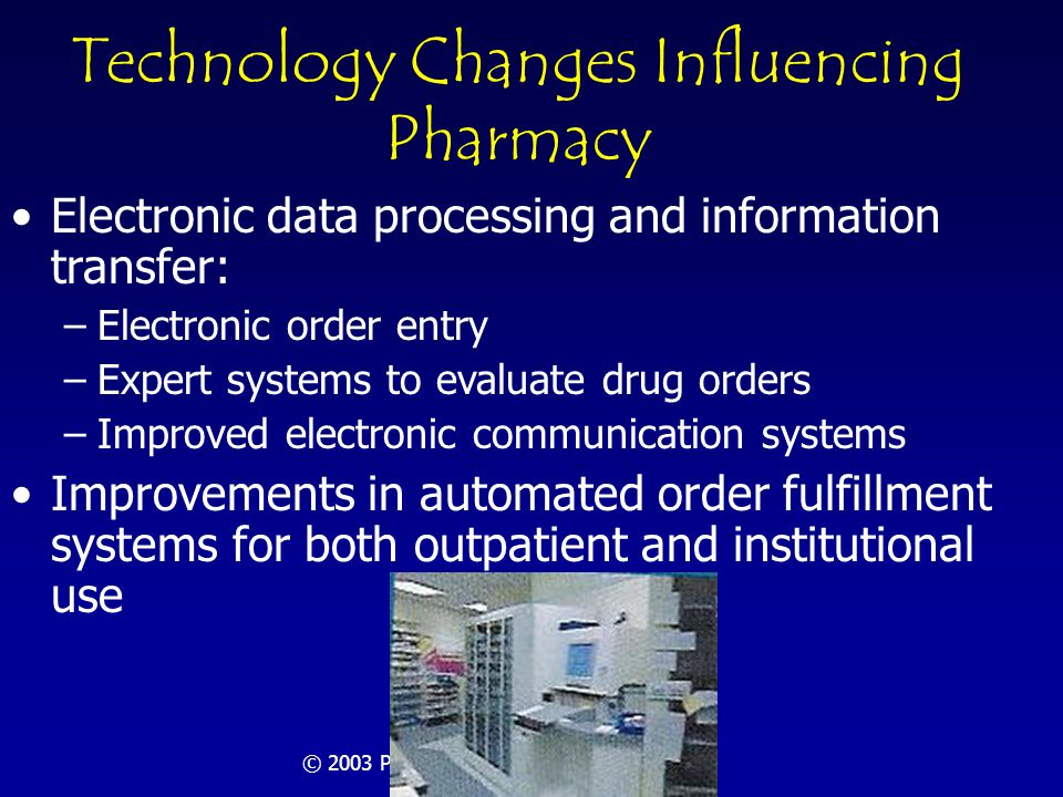 © 2003 Pharmacy Manpower Project, Inc Summary A 3-day conference of 25 selected participants evaluated the need for pharmacists in 2020 Best practice criteria were developed and applied to order fulfillment, drug therapy management (patient care), and other functions Estimates of professionally determined need were made and compared with the estimated supply of pharmacists A shortage of pharmacists with significant magnitude was forecast: 157,000 conservatively Next steps were suggested