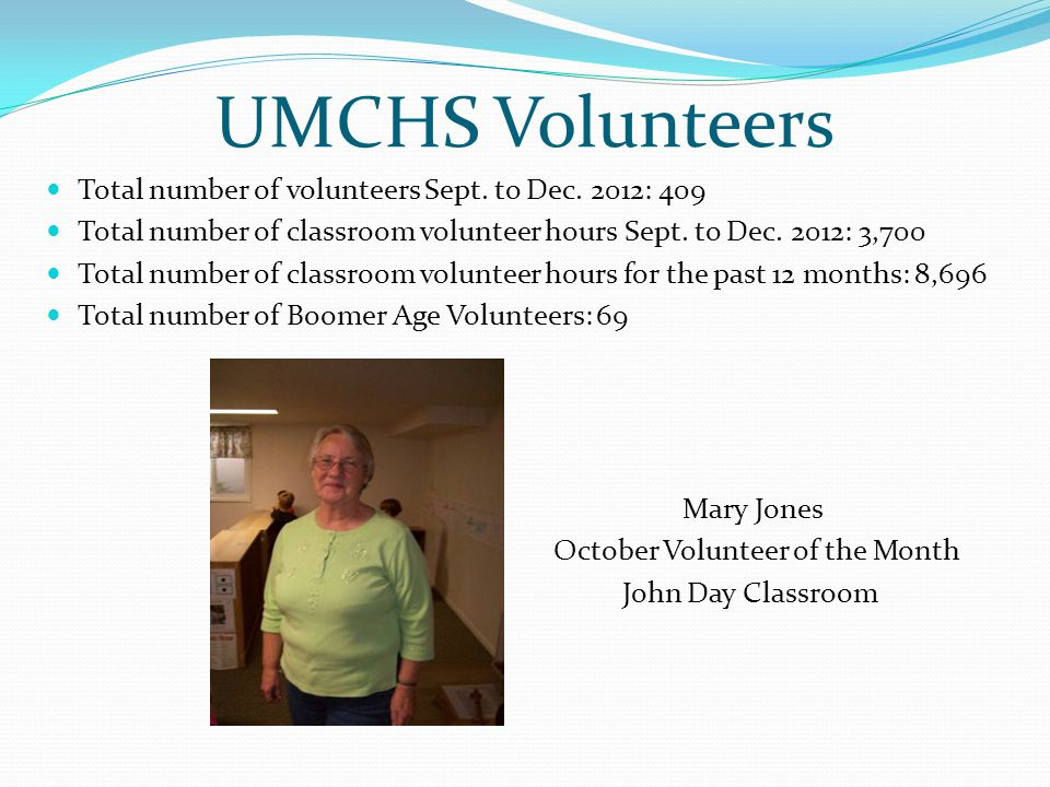 Where Are They Volunteering Board of Directors/Policy Council and other UMCHS Boards.