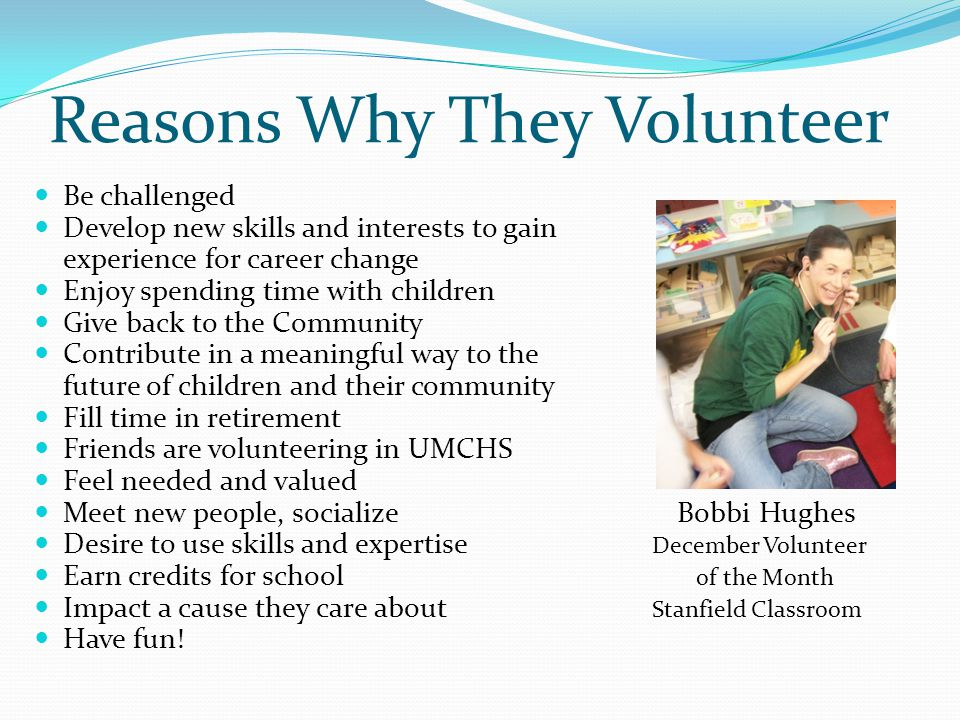 What Makes A Successful Volunteer Program: Vision… Every organization needs a vision and purpose for their volunteer program.