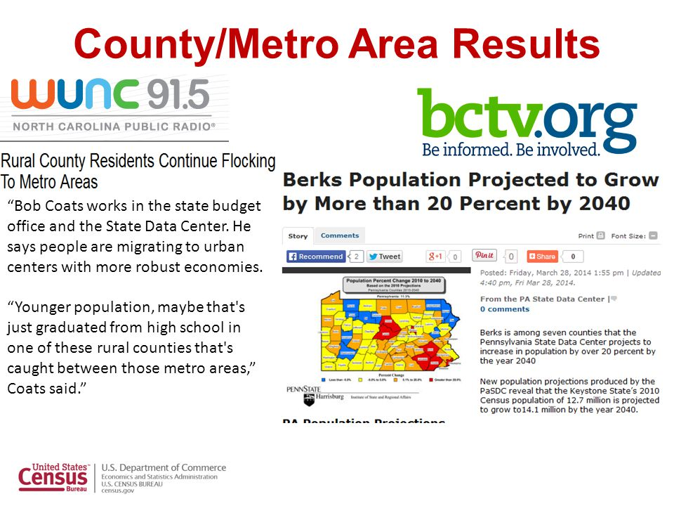 May: Commuting Focus:  The American Community Survey provides a snapshot of how workers commute to work, which helps (local) transportation planners.