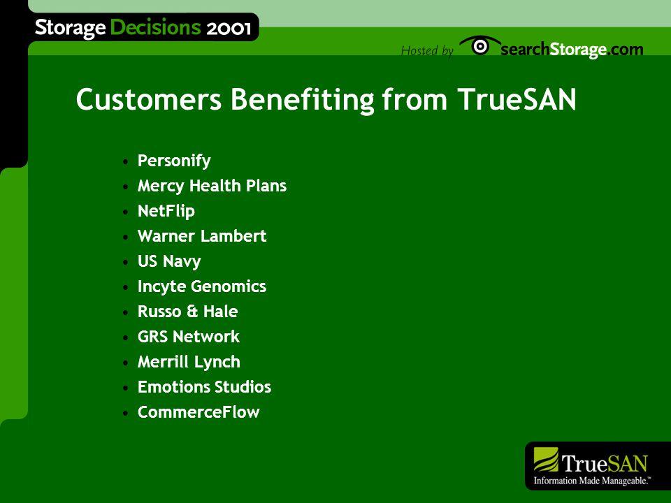 TrueSAN Networks, Inc.