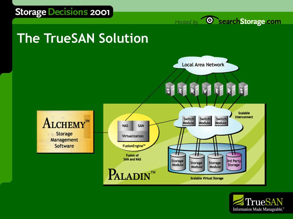Alchemy Software Paladin Network Storage Introducing Alchemy & Paladin