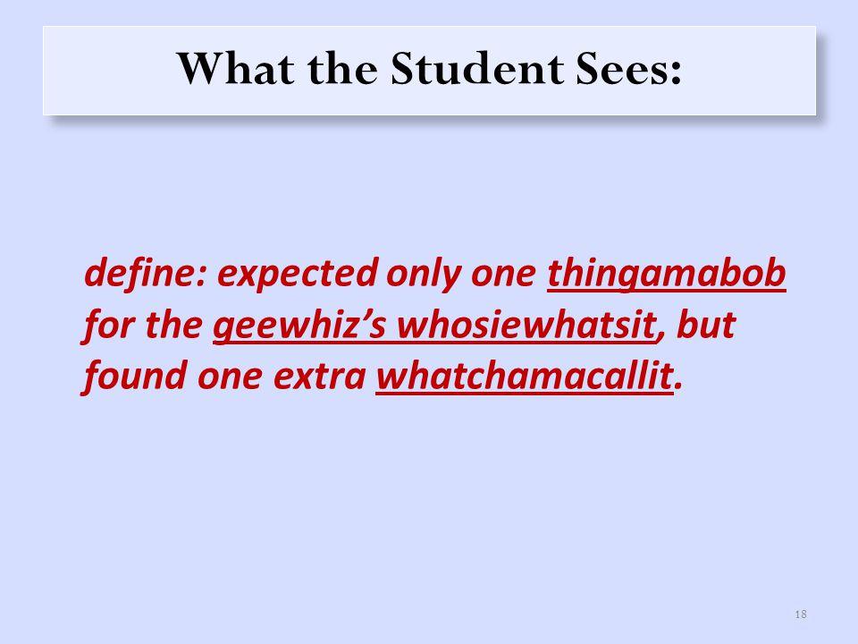 Circle an identifier in this program (define (celsius->fahrenheit temp) (+ (* temp 9/5) 32)) 19 RIGHTWRONG