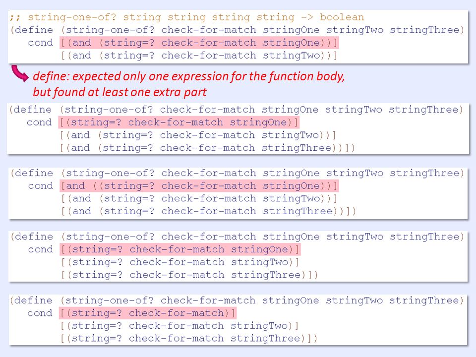 How well do error messages support learning (or fail to?) When errors fail to teach, in which ways do they fail.