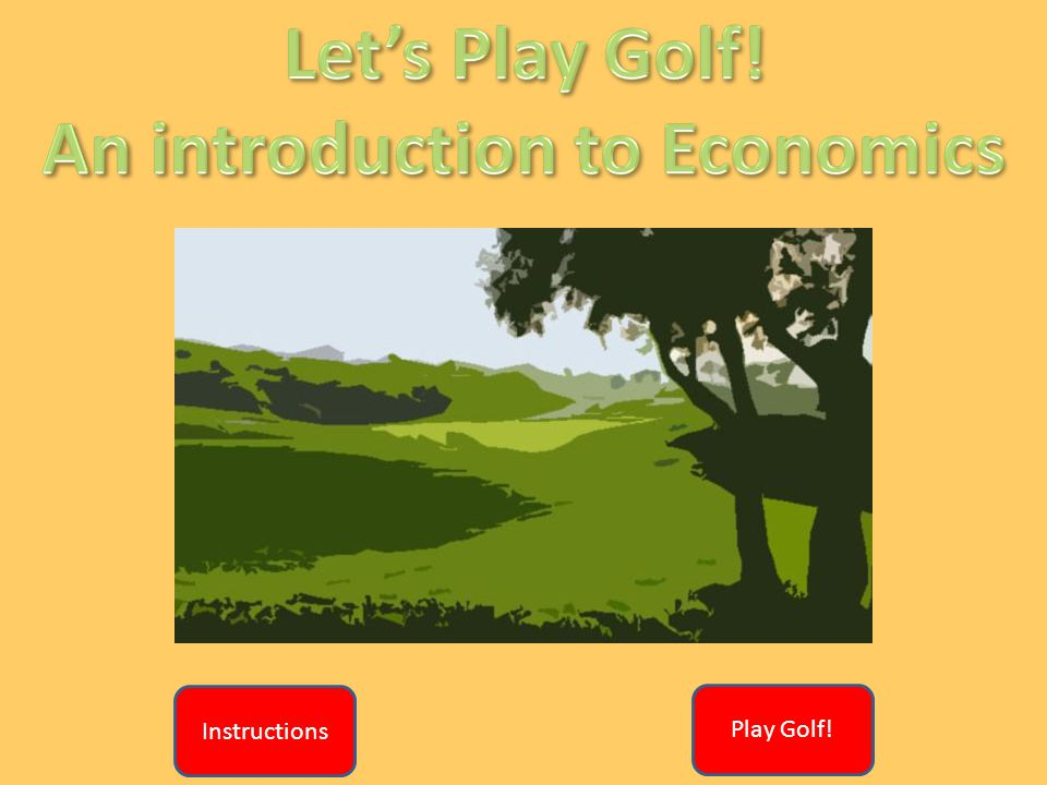 The objective of this game, like golf, is for the teams to score the lowest possible score that they can The teams will be presented with 9 multi-choice questions and answers (one at a time) Having seen the questions and possible answers the team must decide how certain they are that they know the answer.