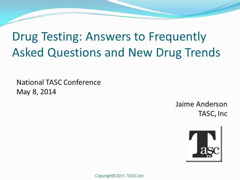 Topics of Discussion  Sample Media Comparison / Detection  Urine Dilution  Ethyl Glucuronide  THC New Usage  New Drug Trends  Over-The Counter Concerns