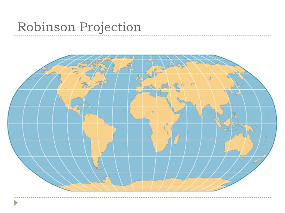 Azimuthal Projection  Planar  Formed when a flat piece of paper is placed on top of the globe and, as described earlier, a light source projects the surrounding areas onto the map.
