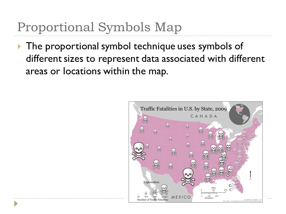 Proportional Symbols Map