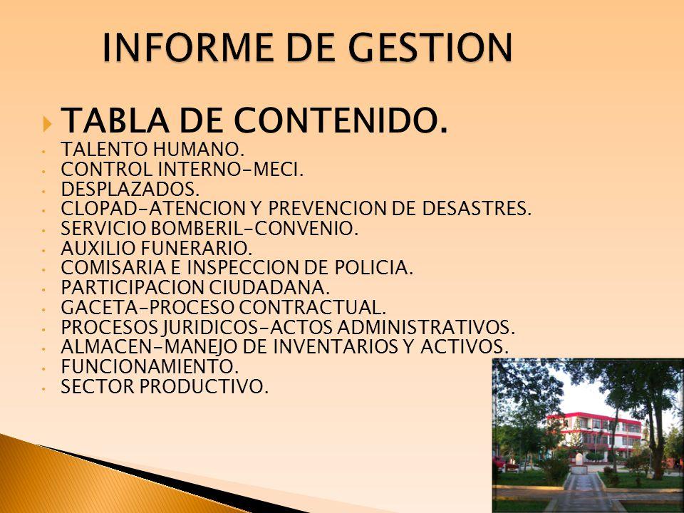 INFORME DE GESTION TALENTO HUMANO.1.
