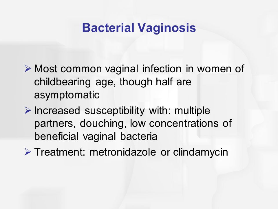 Candidiasis  Vulvovaginal candiasis; yeast infection  Caused by a variety of fungi, most commonly Candida albicans  Fungi normally common in vagina, but will multiply when the pH balance is disturbed  pH changes due to: pregnancy, oral contraceptives, douching, antibiotics, diabetes, fecal material contacting the vagina