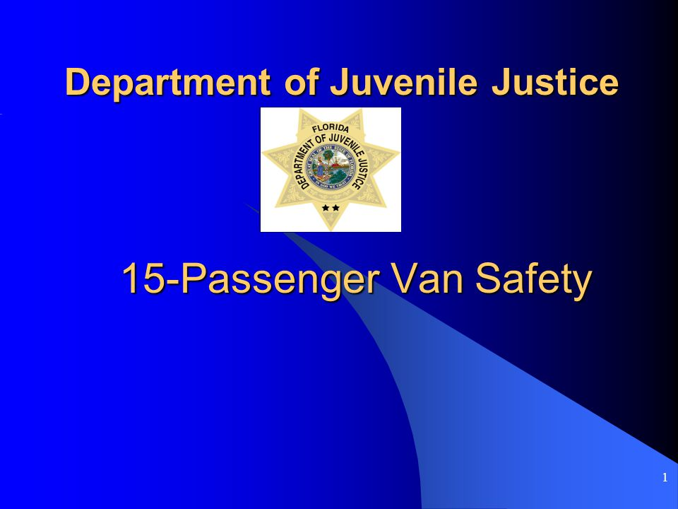 2 Introduction Fifteen-passenger vans are more likely to be involved in a single-vehicle rollover crash than any other type of vehicle.
