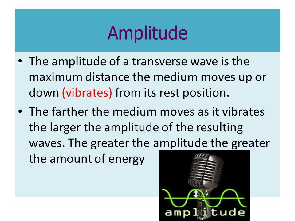 Amplitude of a Longitudinal Wave