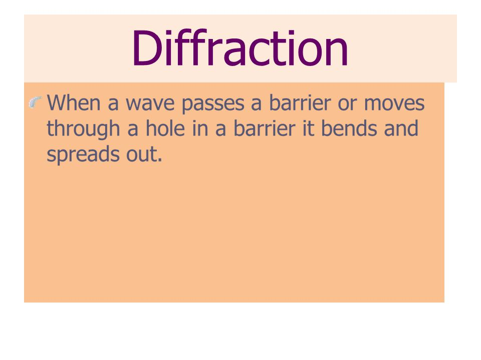 Interference Constructive interference occurs whenever two waves combine to make a wave with a larger amplitude.