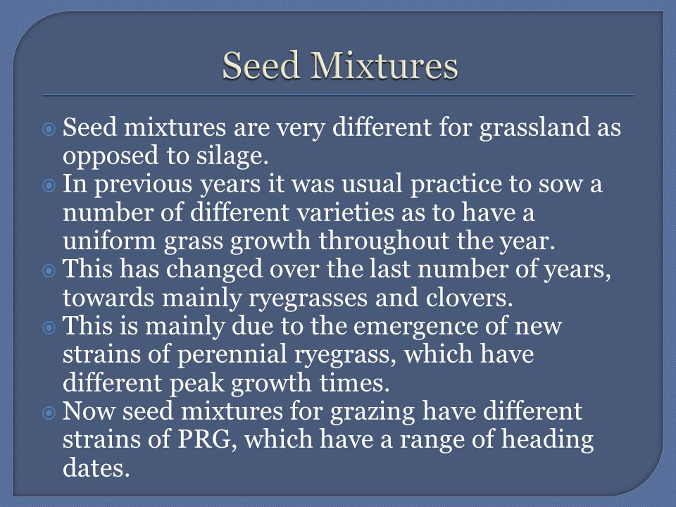  This gives the following advantages:  Encourages uniform growth patterns  Ensures there is always young, leafy digestible grass available as feed.