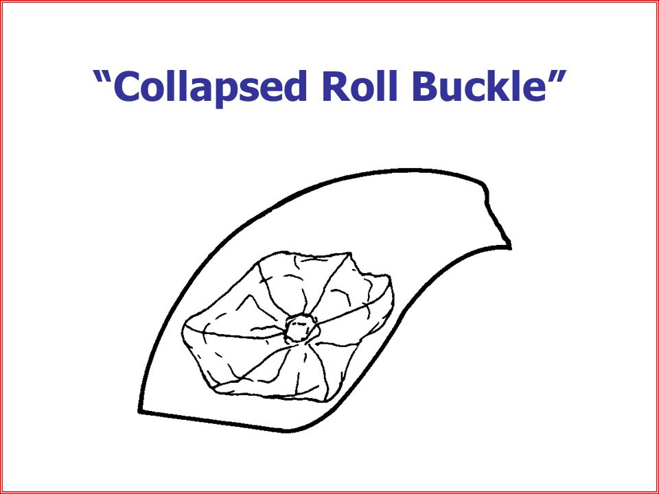 Collapsed Roll Buckle