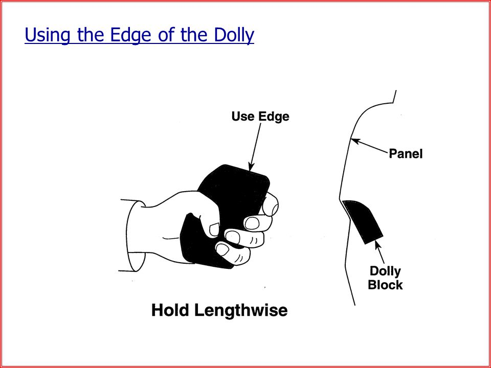 Using the Edge of the Dolly