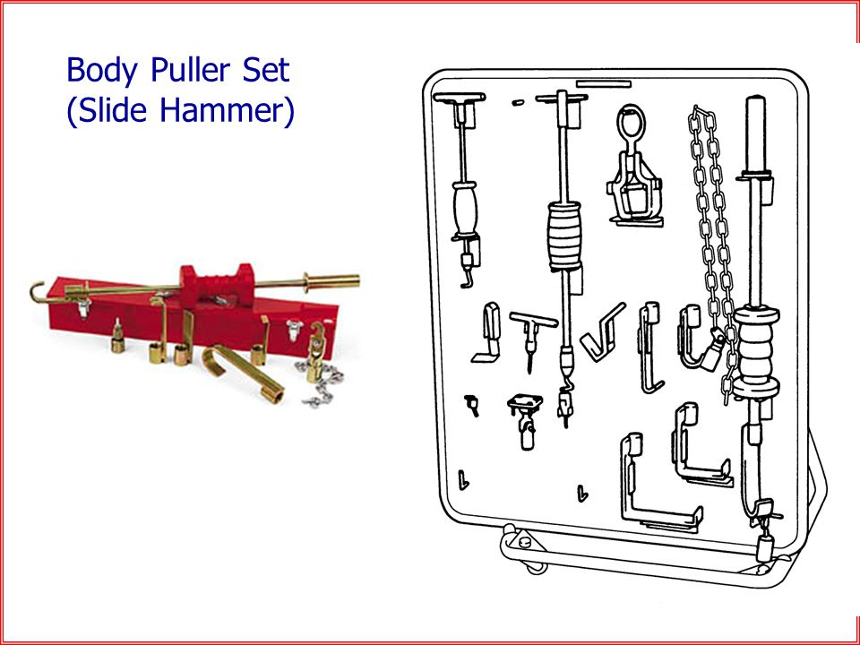 Body Puller Set (Slide Hammer)