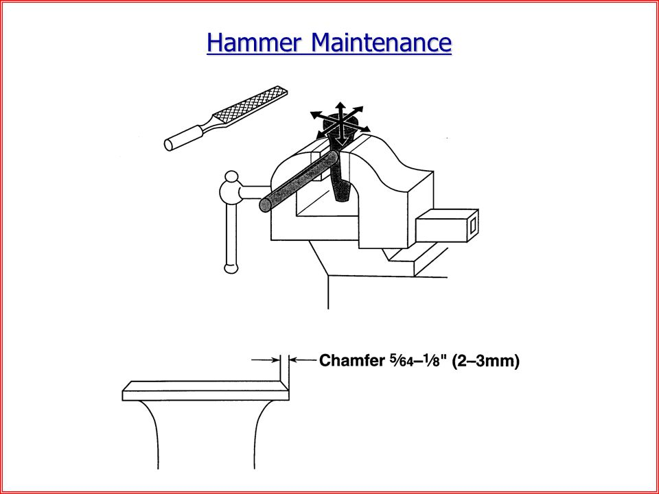 Hammer Maintenance