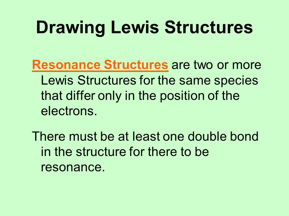 Drawing Lewis Structures Polyatomic Ions are charged groups of atoms, held together by covalent bonds.