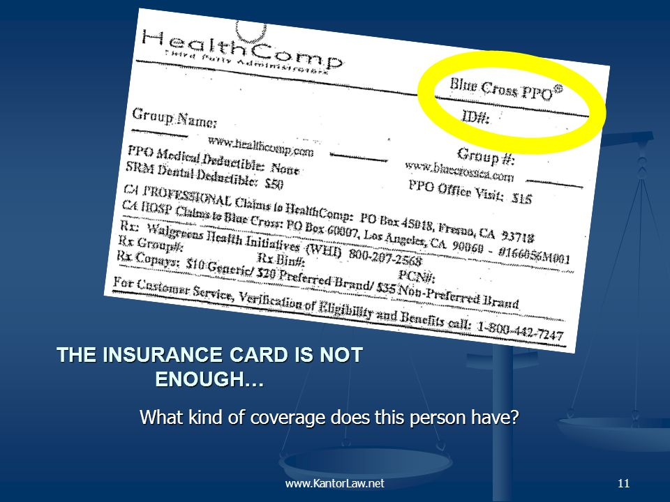 INSURANCE BY ANY OTHER NAME..What is a Plan.