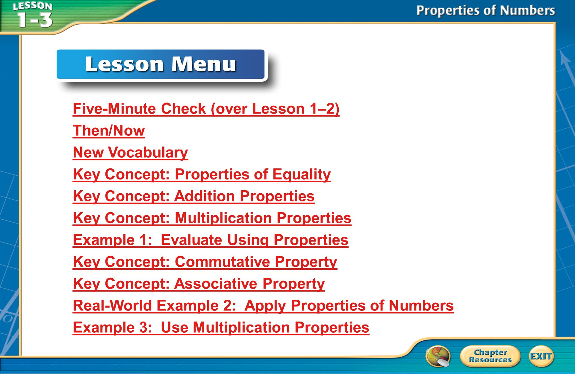 Then/Now You used the order of operations to simplify expressions.
