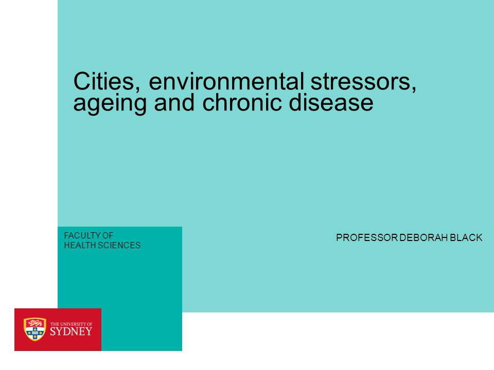 OVERVIEW ›Why do environmental stressors impact more on the ageing.
