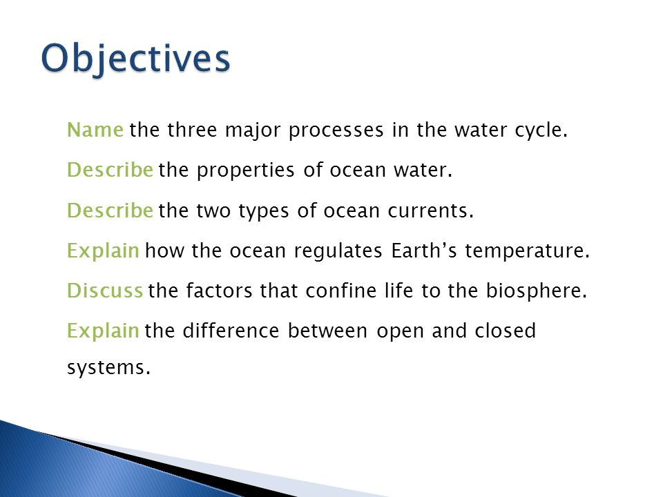  The hydrosphere includes all of the water on or near the Earth's surface.