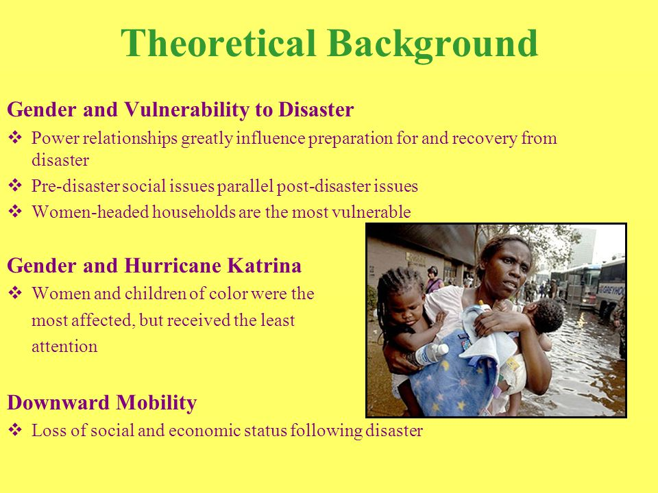Research Objectives 1)Resources provided by relief agencies.
