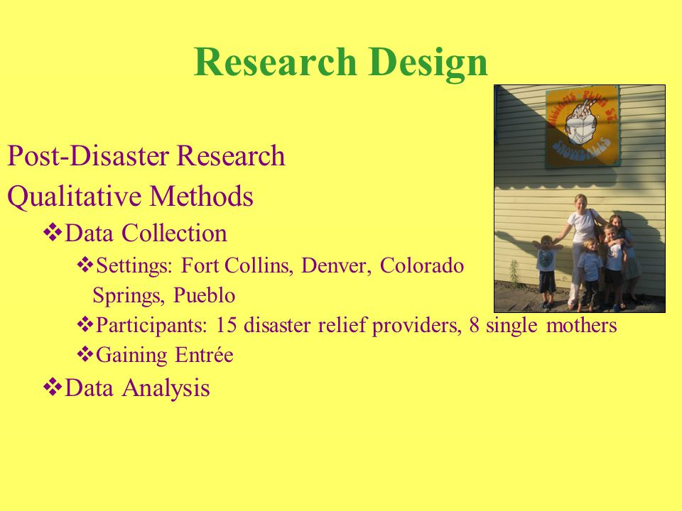 Disaster Assistance in Colorado Needs and Resources Provided  Shelter and Housing  Food  Transportation  Employment  Childcare and Schooling  Health Care  Physical  Mental  Additional Resources