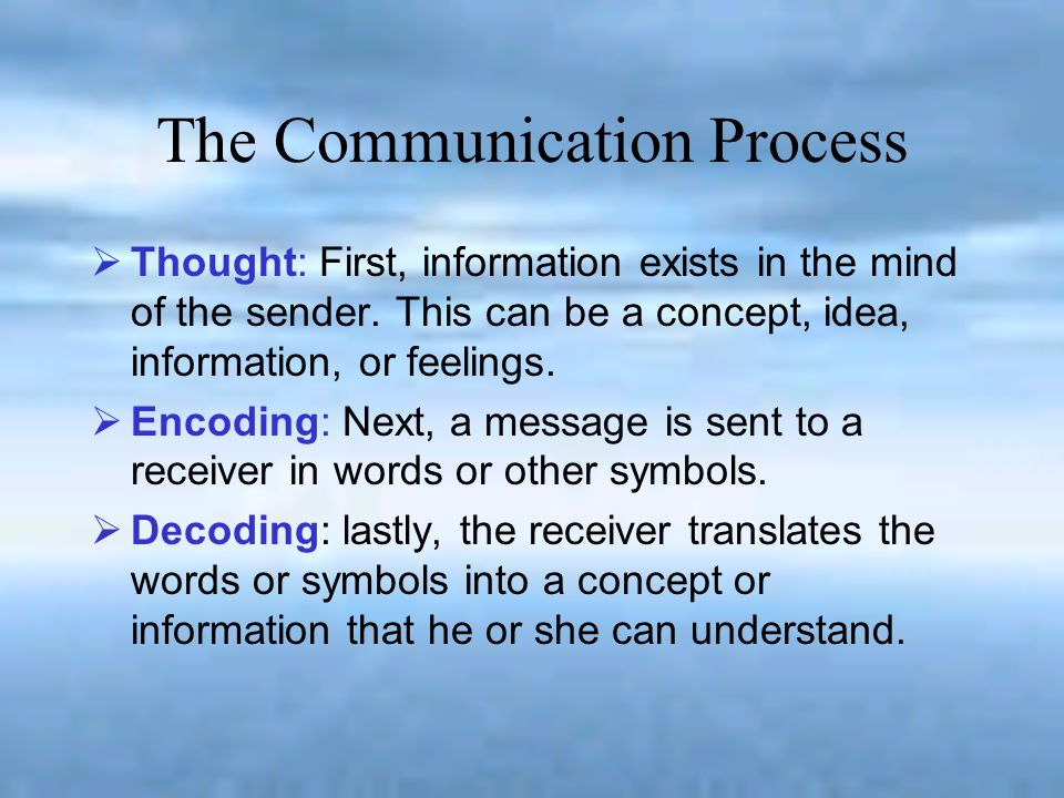 Organizational Communication Objectives An open communication climate.