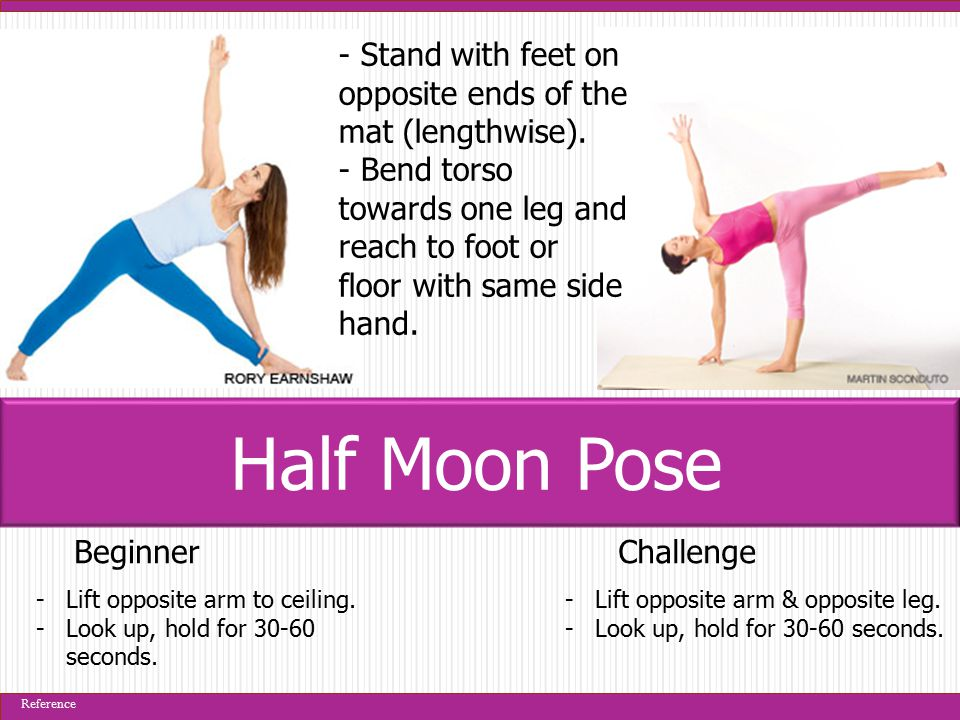 BeginnerChallenge -Can keep hands beside hips for extra support.