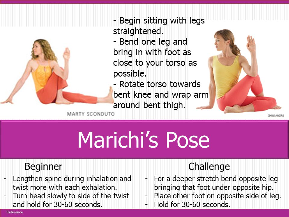 BeginnerChallenge -Try bringing the left leg lower onto the right.