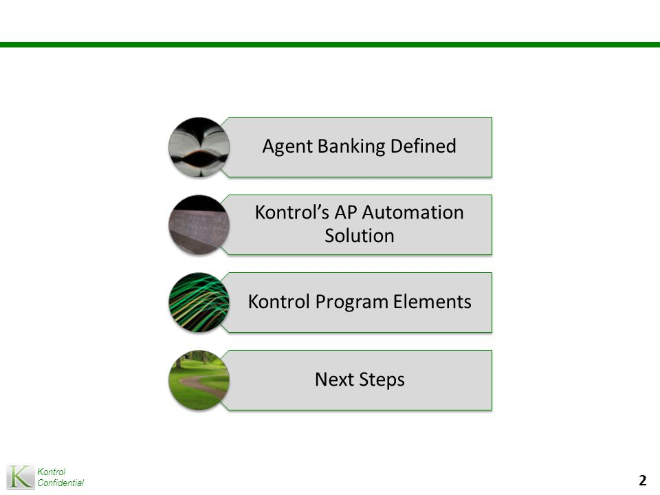 Kontrol Confidential 3 Agent Banking Defined
