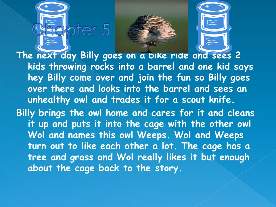 Bruce and Billy enter in a pet parade with Billy's pets he has 30 gophers, Gartner snakes, Rabbits, Rats, Snakes, Pigeons and a dog and also Bruce brings his dog and a surprise pet.