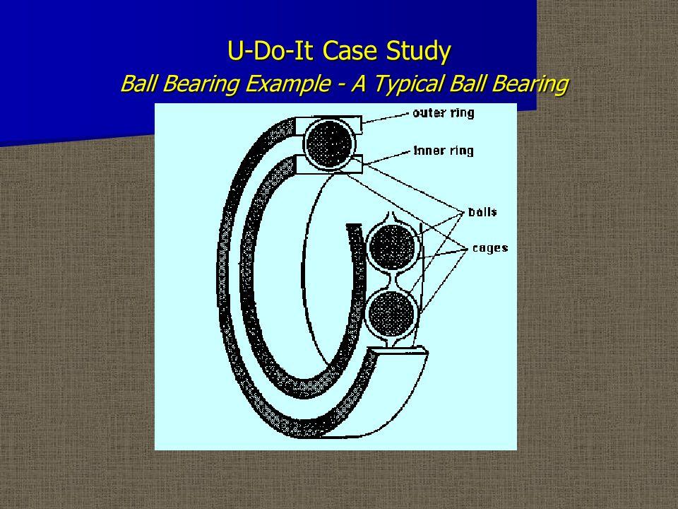 U-Do-It Case Study Ball Bearing Example - Operator Report Form