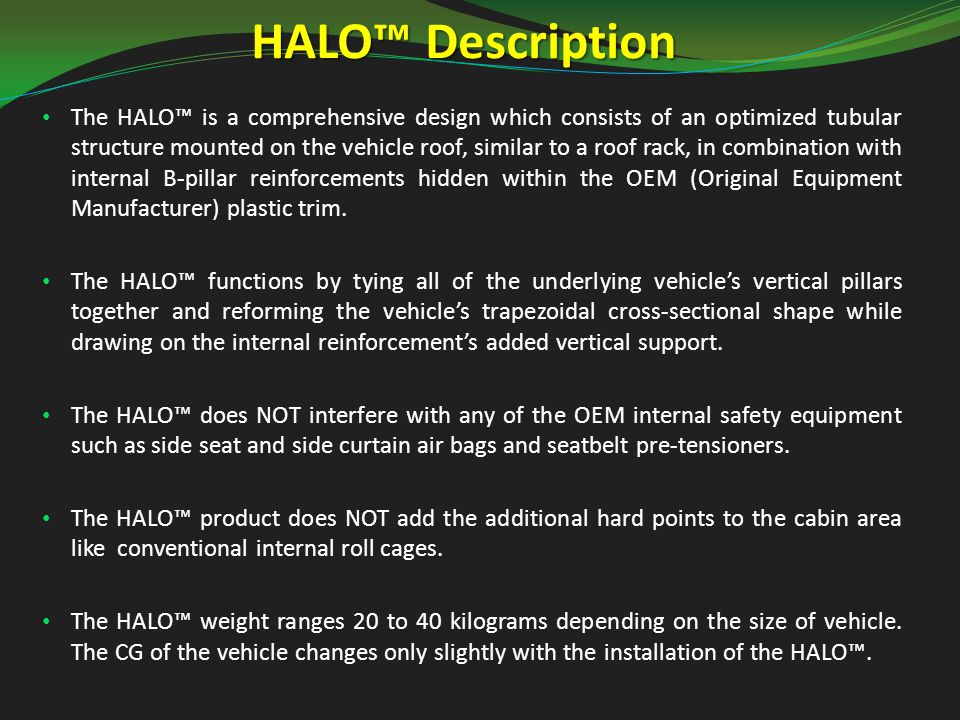 The HALO™