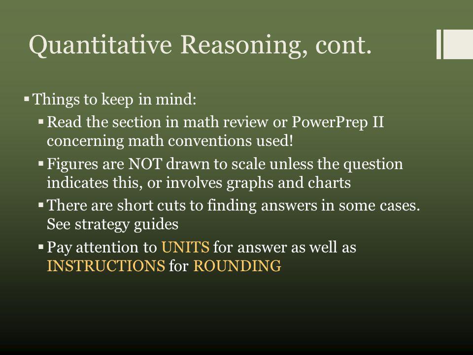 Quantitative Comparison Example