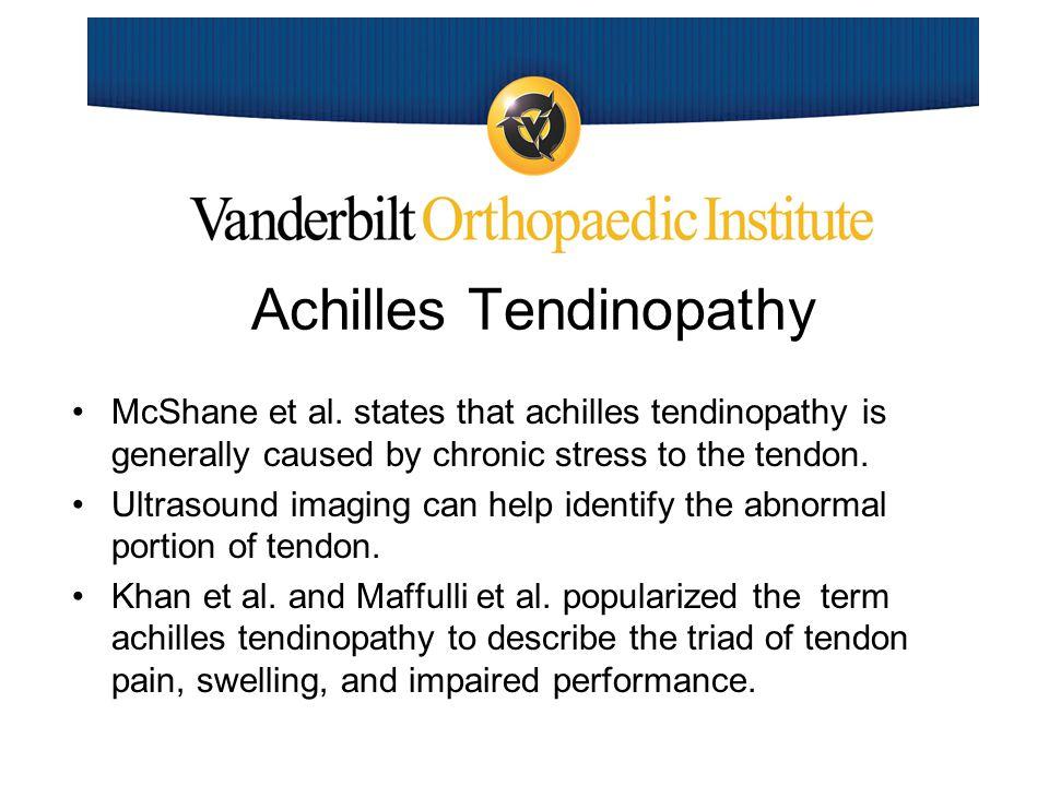 Achilles Tendinopathy Cain et.