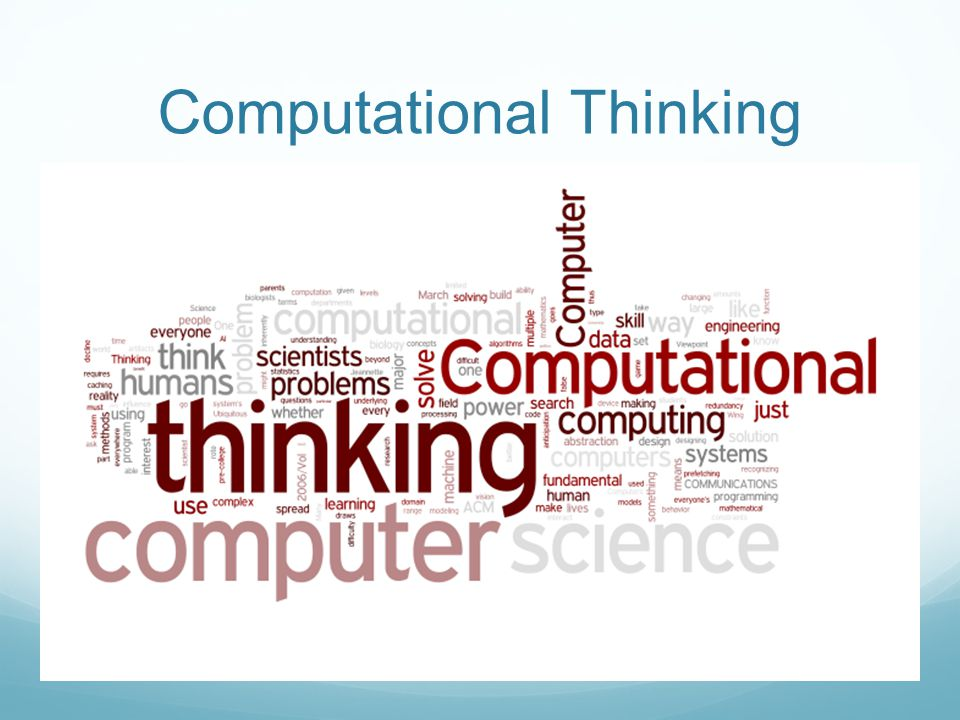 Computational Ideas Solving problems by reduction, embedding, transformation, or simulation Thinking recursively Parallel processing type checking as the generalization of dimensional analysis virtues and dangers of aliasing cost and power of indirect addressing and procedure call