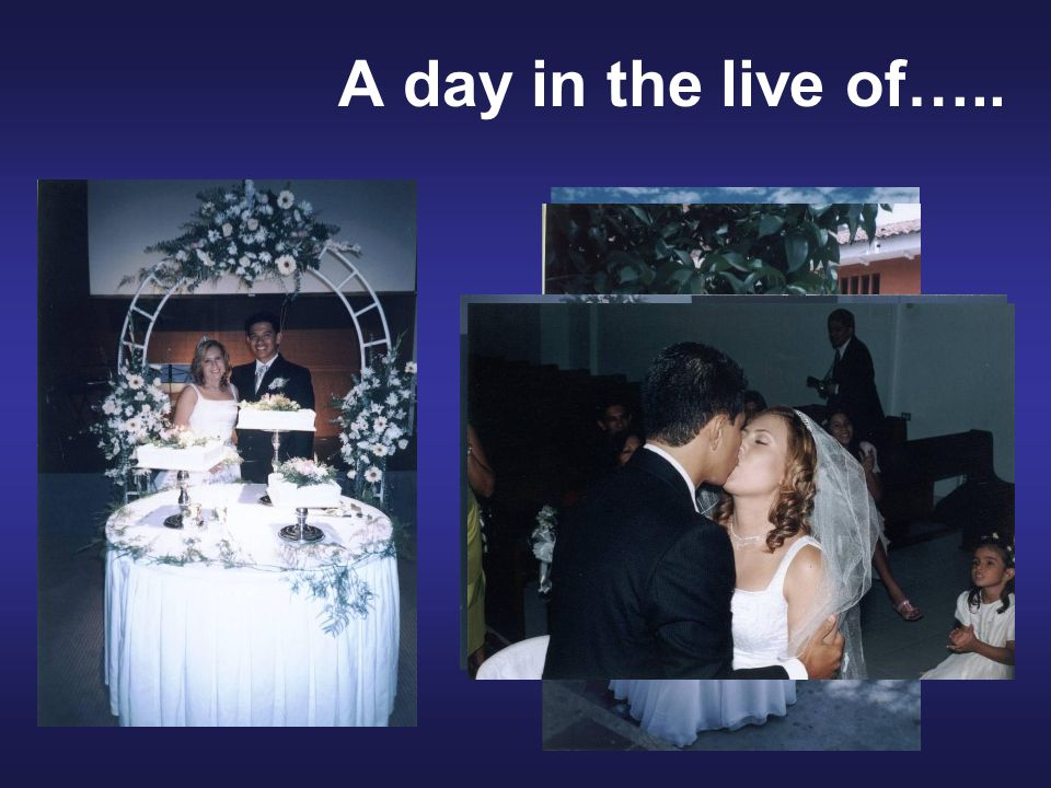 In December 2006 I received the great news that was going to be a father... A day in the live of…..