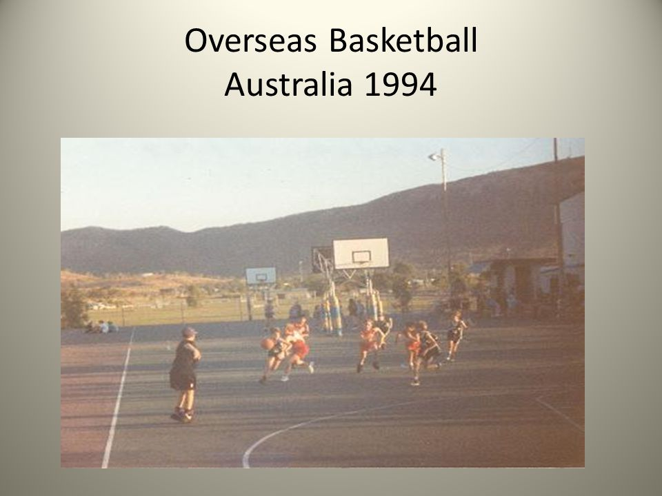 Overseas Basketball Australia 1994